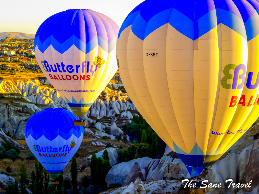 Cappadocia hot air balloon ride