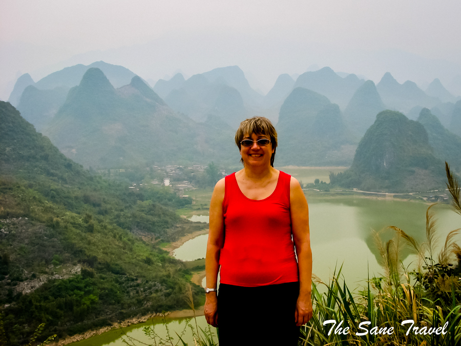 Anita Lee river travel China