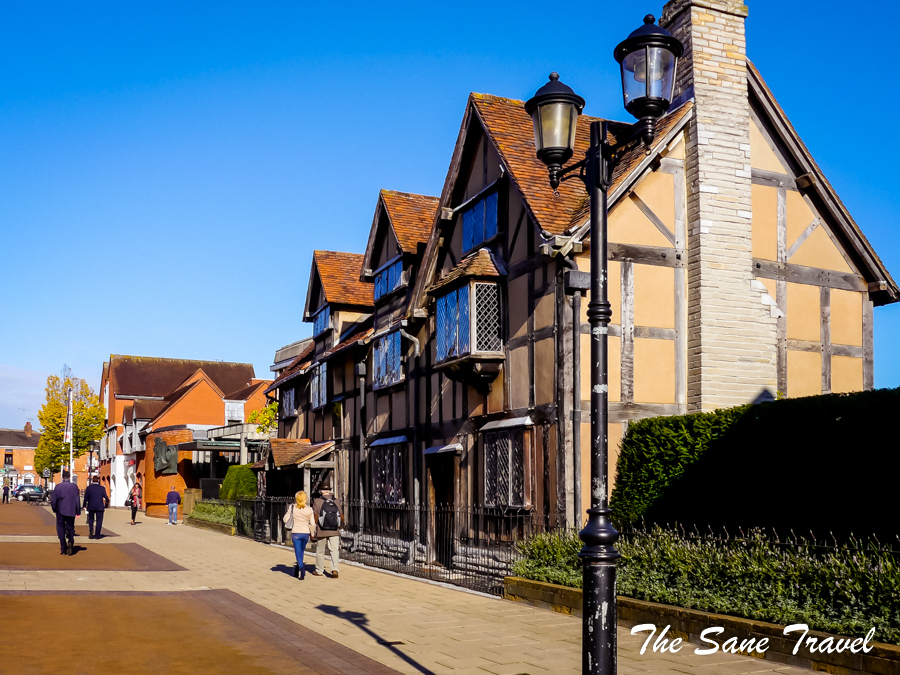 Stratford Shakespeare birth place
