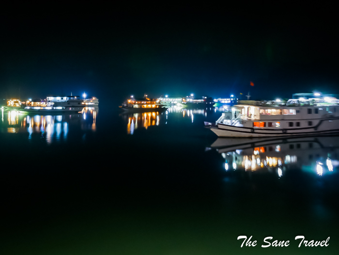 halong bay at night vietnam thesanetravel.com 1020190