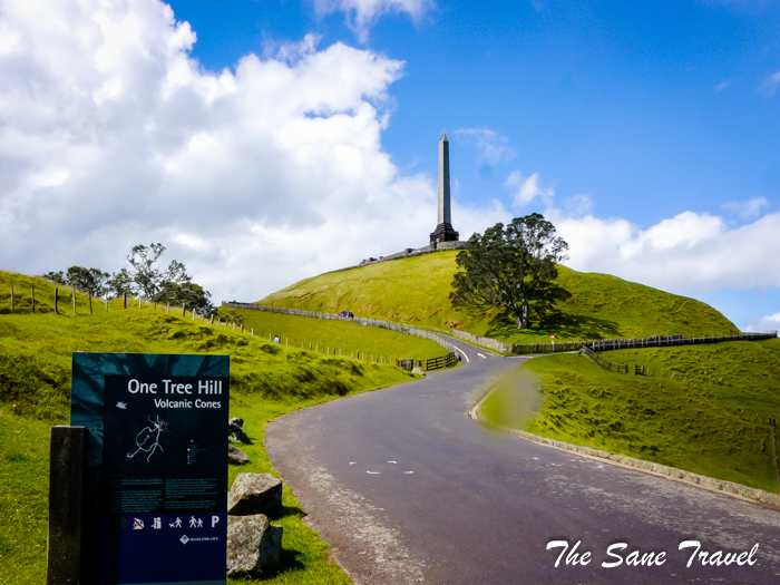 One tree hill. Auckland.
