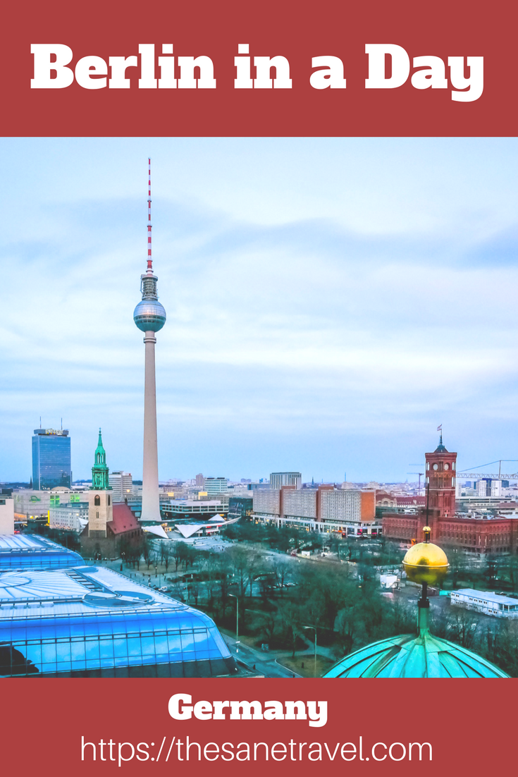 Berlin offers many incredible sights to choose from. Here is a one day Berlin itinerary for culture and food lovers. See Berlin in a day and night! #visitBerlin #Berlintravelguide #PalastBerlin #travelblog #travelphotography #berlininaday