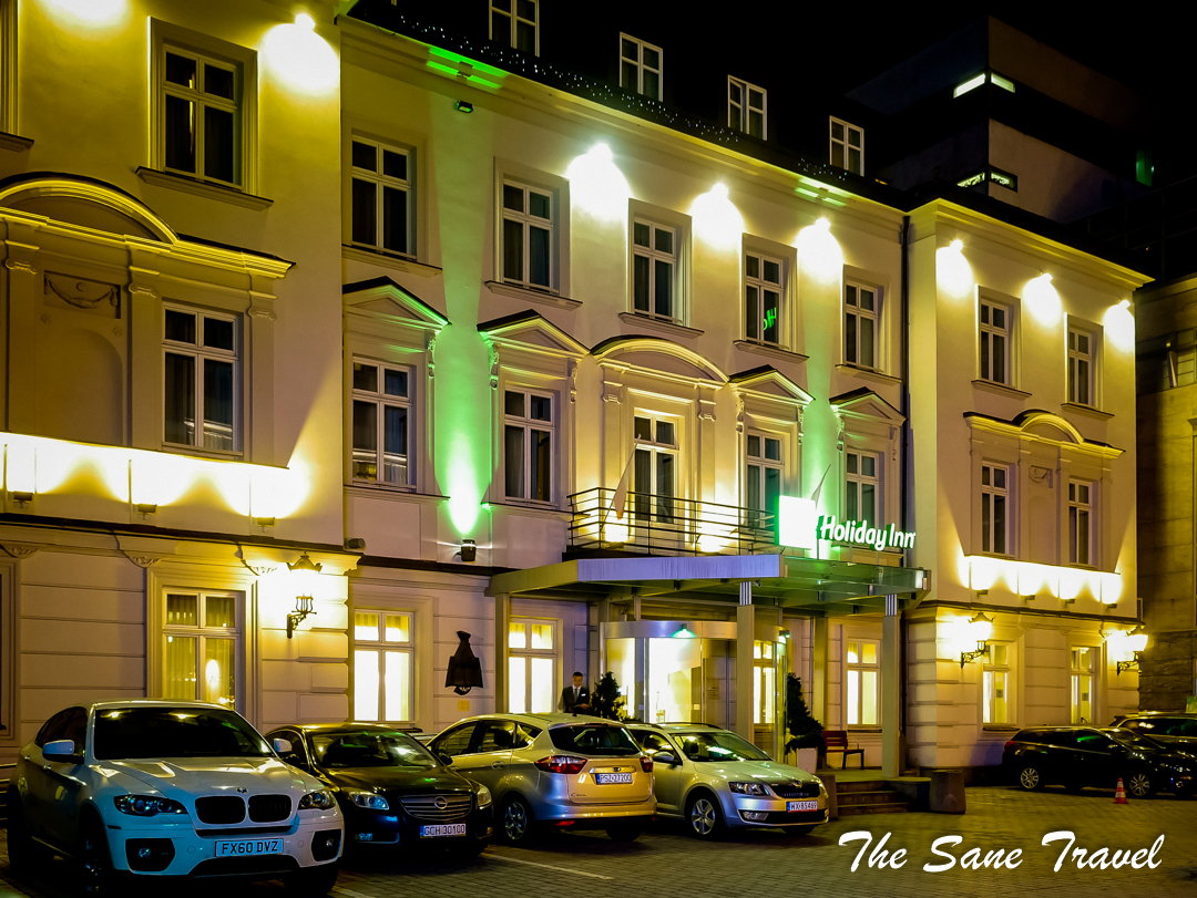 cracow holiday inn hotel