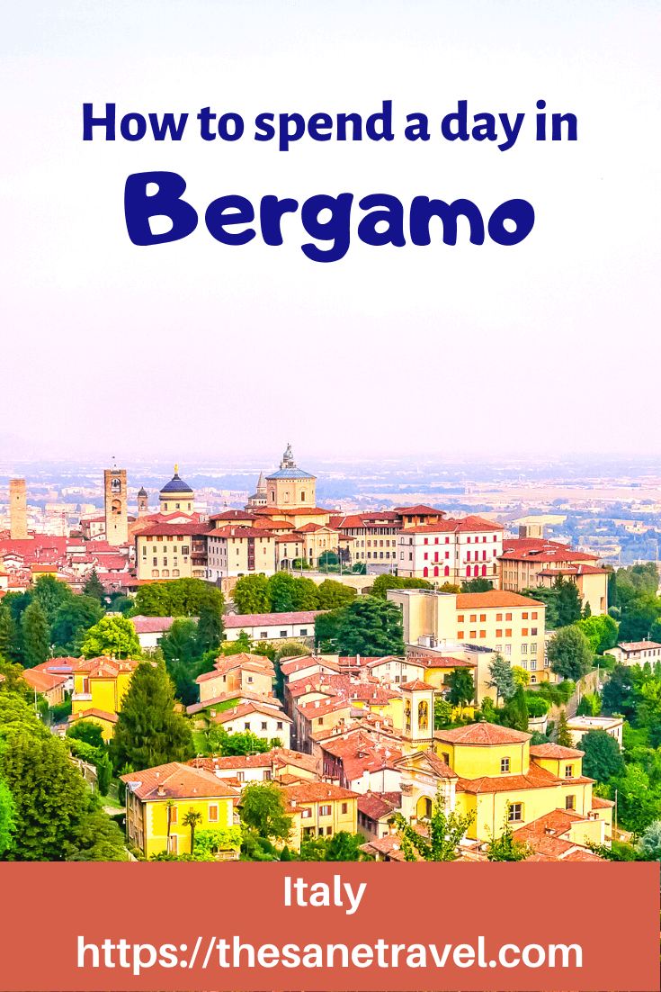 The beautiful city of Bergamo in Italy is located just a few miles from Bergamo airport. The city of Bergamo is divided into two parts: the lower and upper part. The upper part of Bergamo is the old city. Bergamo wouldn't be the same without its impressive Venetian Walls. From 2017, the Walls of the Bergamo have become a UNESCO World Heritage Site. Check these things to do in Bergamo in a day. #visitItaly #visitBergamo #travelblog #travelphotography