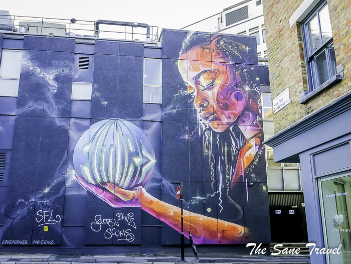 Diy Street Art Tour London
