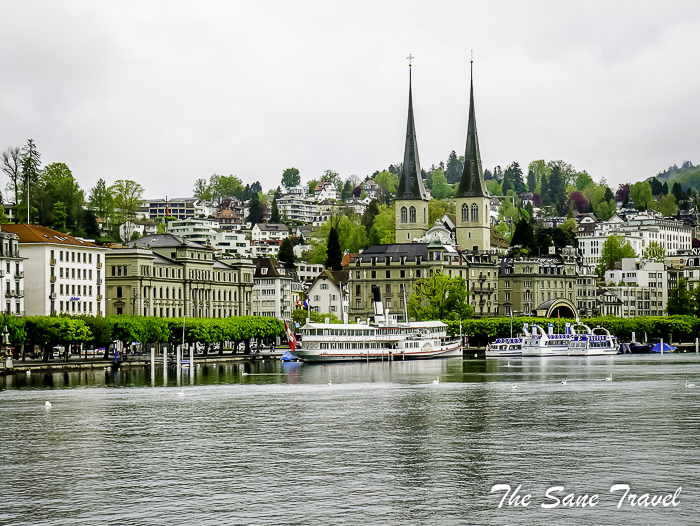 Self-guided walking tour of Lucerne, Switzerland