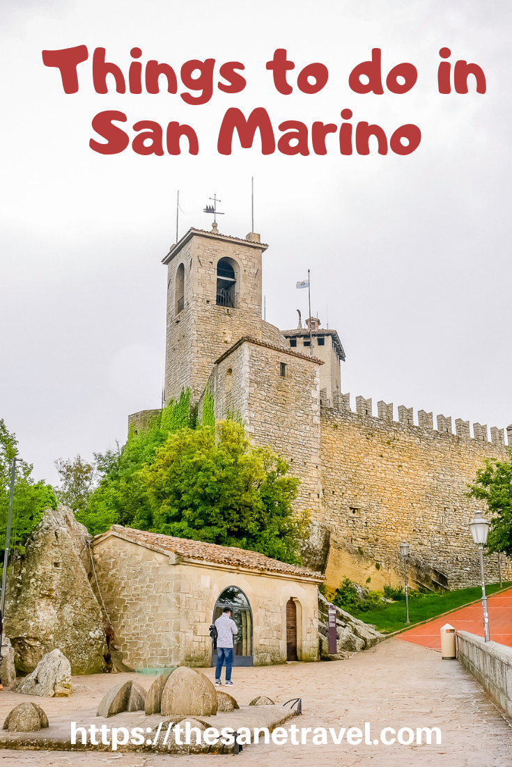 San Marino is one of the smallest countries in the world residing along the Italian east coast. San Marino historic centre and Mount Titano is UNESCO World Heritage site since 2008. The capital city itself is smaller than you might expect it's still worth visiting because of the views and the feel of country history. So read and see more about spectacular San Marino! #Europetravel #Sanmarino #visitSanMarino #travelblog #travelphotography
