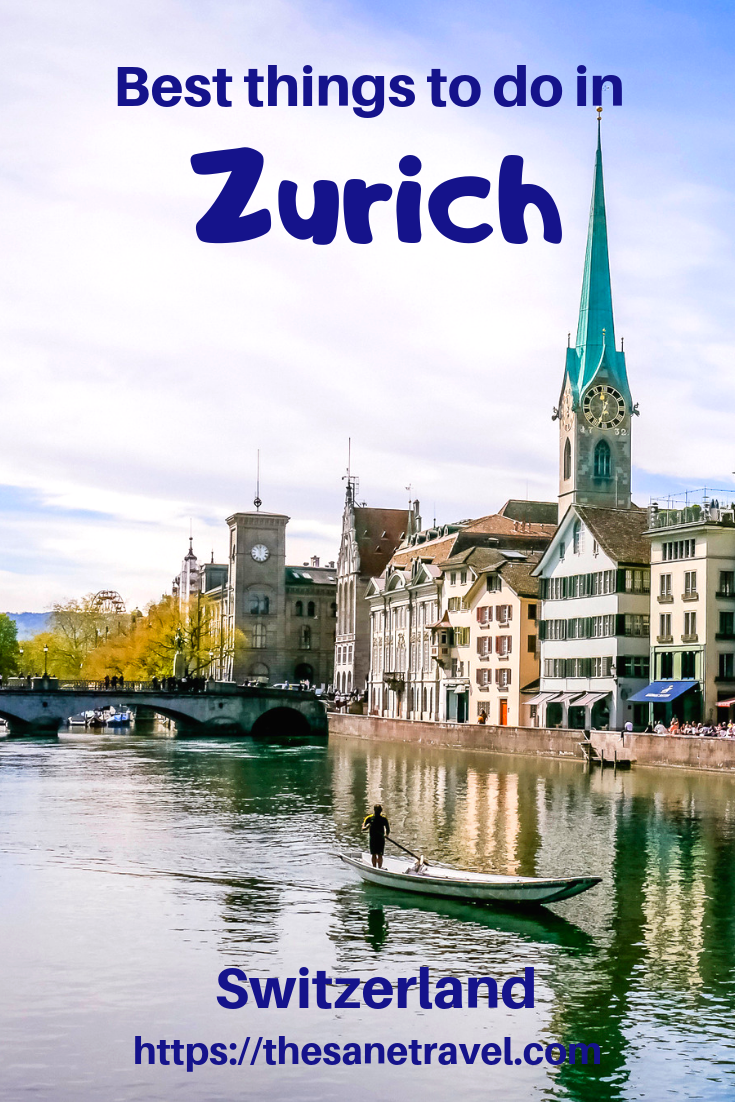 If you are heading to Switzerland, it's very likely that your trip to this country will start at Zurich airport or train station. Looking for places to visit in Zurich? Check these best things to do in Zurich, Switzerland. All of them are doable in one day in Zurich. Enjoy Old town, views and one of the best Zurich museums. #placestovisitinZurich #visitZurich #onedayinZurich #Zurichmuseums #travelblog #travelphotography