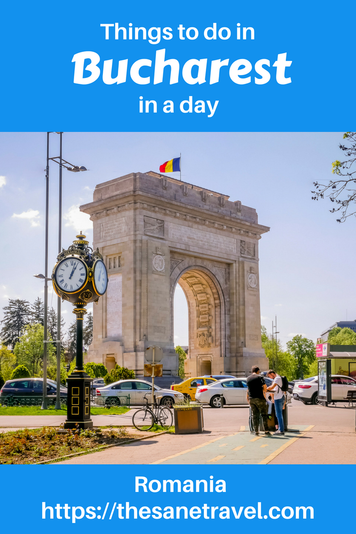 Do you have just a day to see Bucharest, capital of Romania? It has a rich and diverse history and has so much to offer to an inquisitive traveller. Here is a selection of things to do in Bucharest for you to enjoy. #travel #travelphotography #travelblog #visitBucharest #visitRomania #citybreak #Europetravel