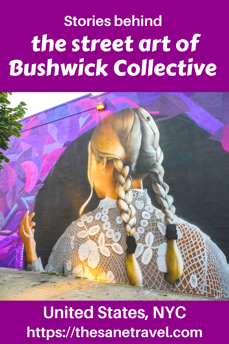 Are you a street art fan? Then Bushwick Collective is for you! The world-famous initiative of Bushwick Collective street art was started by a local of Bushwick, Joseph Ficalora. The Bushwick Brooklyn street art collection keeps on growing, with new murals being added so put it in your NYC itinerary! #BushwickCollective #streetart #visitNYC #USAtravel #travelphotography #travelblog #travelblogger #visitUSA