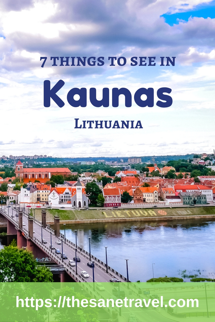 There are many reasons visit #Kaunas, Lithuania's second largest city. One of the newest is that Kaunas has just been voted to be one of the two European Capitals of Culture for 2022. I don't think you have to postpone your visit until 2022, there's a lot to see there now. Here is my selection of 7 things to do in Kaunas.Enjoy! #travel #Lithuania #travelpics #Baltics https://thesanetravel.com/travels/lithuania/things-to-do-in-kaunas-lithuania