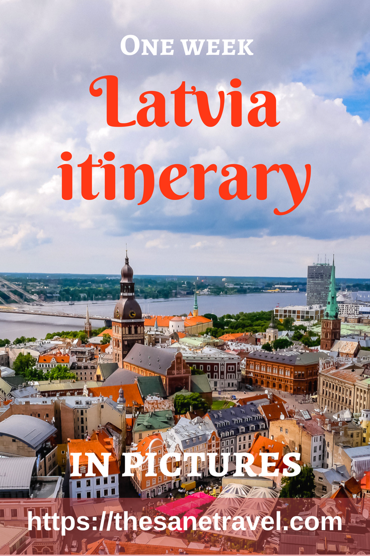 Have you been thinking about taking a week trip to Latvia? Here is a travel itinerary in pictures for your inspiration! #travelphotography #travelitinerary #Latvia #Europe #Europetravel #travel #travelblog