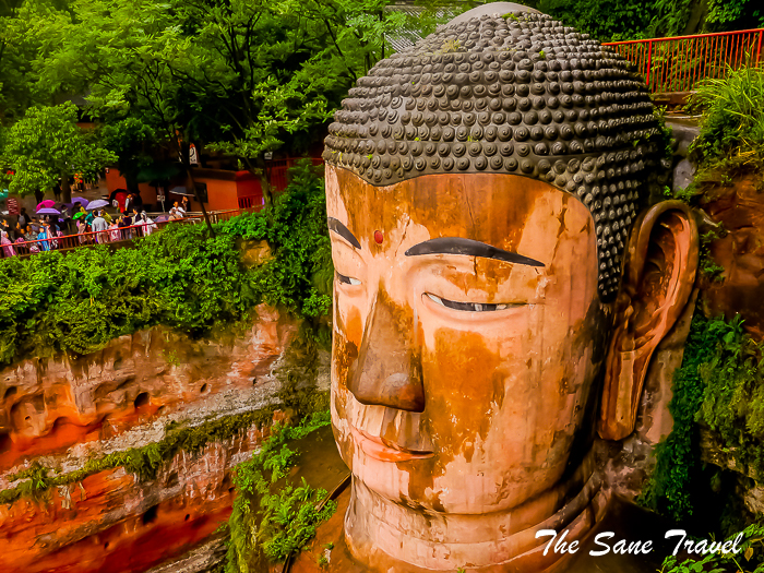 Self guided tour of Leshan Buddha