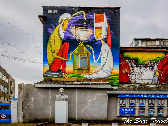 Introducing Minsk's street art
