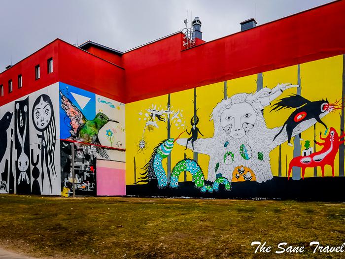 Introducing Minsk\'s street art