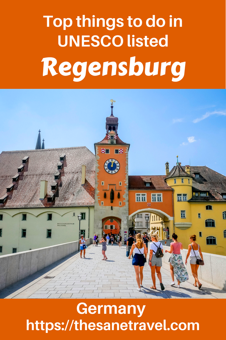 Regensburg might be one of the best places to visit in Germany, but you should see and decide that for yourself. The first capital of Bavaria, included in UNESCO world heritage list it is famous for stunning Regensburg Cathedral, Thurn and Taxis Palace, patrician towers and stone bridge but there is much more to it than that. Check yourself the best things to do in Regensburg. #visitBavaria #visitGermany #Europetravel #Regensburg #UNESCOheritage #travel #travelblog #travelphotography