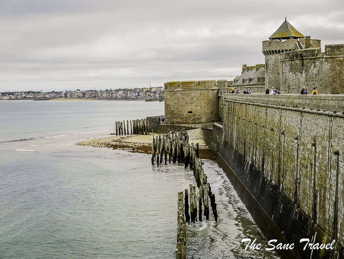 What to do in Corsair city Saint-Malo in a day