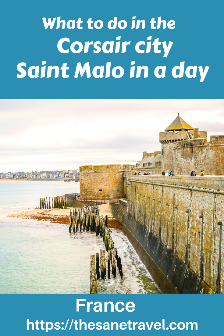 When planning your visit to Western France, make sure to include Saint Malo in your trip! Built on a rock at the mouth of the River Rance, Saint Malo is a city whose roots go back thousands of years. The most popular district of the city is Intra Muros or 'inside the walls'. Also do not forget visiting nearby beach resort Dinard! Check my suggestions for your travel itinerary! #Europetravel #visitFrance #visitBrittany #SaintMalo #StMalo #travelblog #travelphotography #travelinspiration