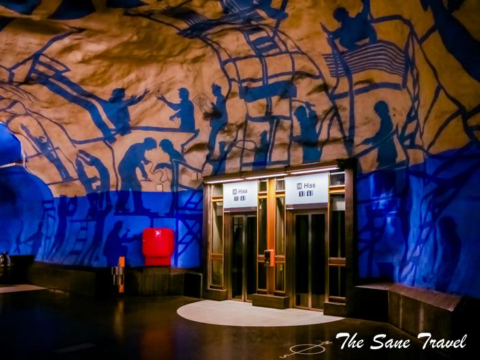 7 Stations Of Stockholm S Underground Art