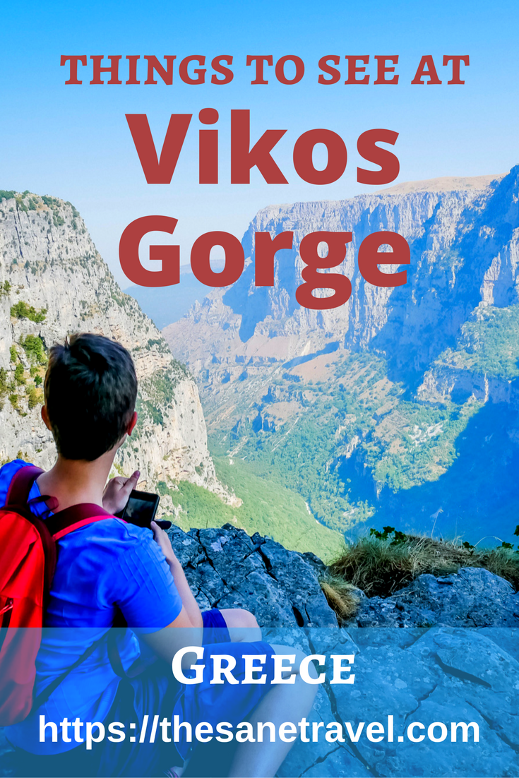 My article is about a day trip to the Northern Pindos National park located  about 30 kilometers of Ioannina, the capital of Epirus province, Greece. The main attraction of it is Vikos gorge is recorded as the world's deepest canyon 900 meters deep in Guinness book of records. It truly is a spectacular sight. Enjoy! #NorthernPindosNationalpark #Greece #travel #travelphotography #Vikosgorge https://thesanetravel.com/travels/greece/vikos-gorge-tour