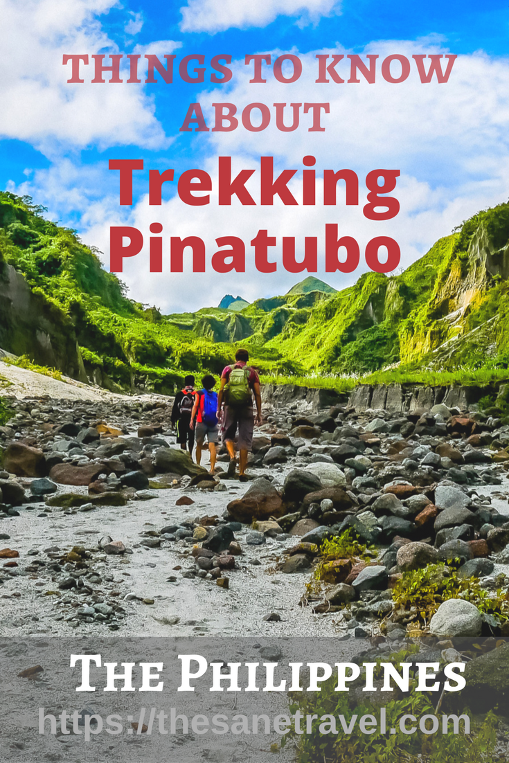 Did you know that eruption of the Pinatubo was the second largest volcanic eruption of the 20th century? Located 100 kilometres from Manila in the Philippines it is a 2-day or weekend trip! Check these 5 things before you go! #visitPhilippines #Pinatubo #travelphotography #trekking #trekkingtravel #Asiatravel #naturetravel
