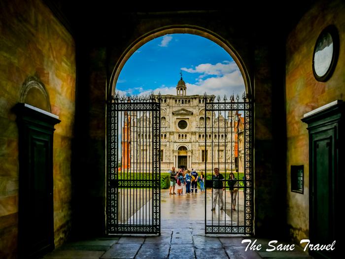 Certosa di Pavia a hidden gem near Milan